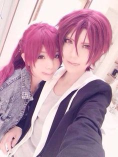 Aaaaaaah they're so flipping cute holy fuck!!!!!!!!~ >//w//< Like um eep omigosh cosplay goals~ .//w//.