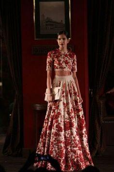 Indian Couture Week Exclusive: Bridal Looks - Shaadi Bazaar sabayasachi Indian wedding clothes