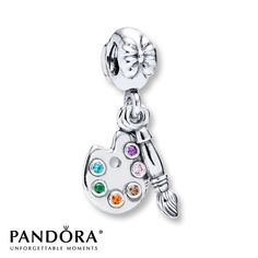 Pandora paintbrush charm