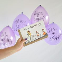 DIY Balloon Bridesmaid Proposal | Cozy Reverie