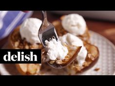 Best Cinnamon Baked Pears Recipe - How to Make Cinnamon Baked Pears