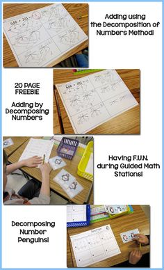 Lots of new things....a little about Math with decomposition of numbers and a 20 PAGE FREEBIE!!!