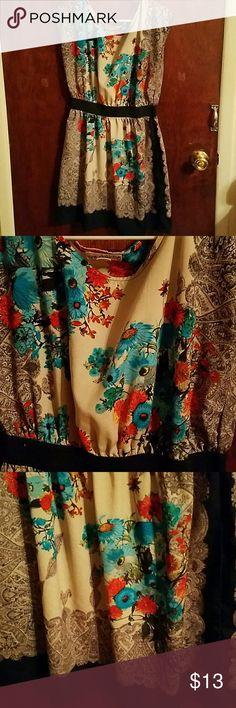 Cute Mini Dress size Medium One Clothing Mini Dress size Medium   Love it but it doesn't fit anymore... one clothing Dresses