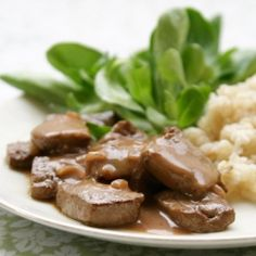 Traditional German recipe for beef liver. Its delicious and nutritious!