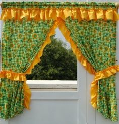 Find more info relating to Home Ideas Kitchen Elegant Curtains, Hanging Curtains, Drapes Curtains, Custom Drapes, Custom Shower Curtains, Red Kitchen Curtains, Sunflower Themed Kitchen, Window Curtain Designs, Bed Cover Design