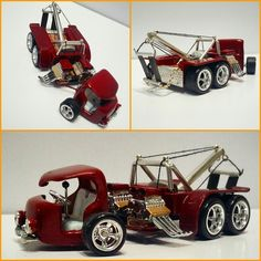 custom hot wheels by Justin Shubert Custom Hot Wheels, Hot Wheels Cars, Hot Cars, Custom Cars, Volkswagen Models, Plastic Model Cars, Model Cars Kits, Weird Cars, Unique Cars