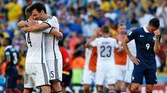 Festeja Alemania que por 4 vez consecutiva se mete en una semifinal.