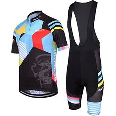 Girls' Cycling Jerseys - Mzcurse Mens Team Mountain Bike Cycling Short Shirt Jersey Shorts Suit Kit Set ** Check this awesome product by going to the link at the image.