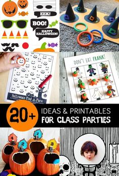 20+ Halloween Ideas & Printables for Class Parties - My Sister's Suitcase - Packed with Creativity