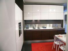 cucina one ernestomeda cucina in offerta da esposizione 950000 basi rovere moro