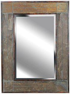 White River Slate Rectangular Kenroy Home Wall Mirror