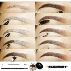 How do I fill your eyebrows? Instructions for creating eyebrows, including . - How do I fill your eyebrows? Instructions for creating eyebrows, including … # - Tweezing Eyebrows, Threading Eyebrows, Threading Salon, Face Threading, Plucking Eyebrows, How To Do Eyebrows, Filling In Eyebrows, Makeup Looks, Makeup Eyes