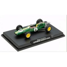 Tamiya (21141) - 1/20 Scale Lotus 25 Coventry Climax No.4 1963 (Finished Model)