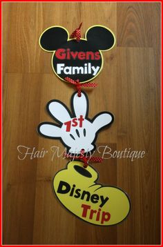 Disney cruise door sign