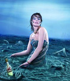 Milla Jovovich Campari 2012 fotógrafo Dimitri Daniloff
