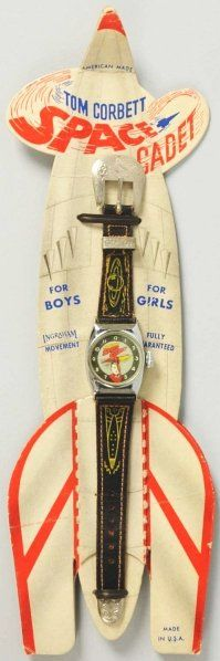 Tom Corbett Space Cadet Character Wrist Watch, 1951