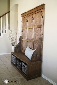 47 creative entryway and mudroom ideas - 1000 Ideas About Storage Benches On Pinterest