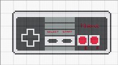 Nintendo Controller cross stitch pattern. Free ($0). - for Justin
