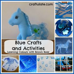 Blue Crafts and Activities