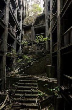 The Ghost Island of Hashima Japan  The whole island was deserted for 20 years with no solid reason.