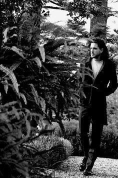Kit Harington - The Eighth wonder.... — Kit Harington - Vogue America by Peter Lindbergh