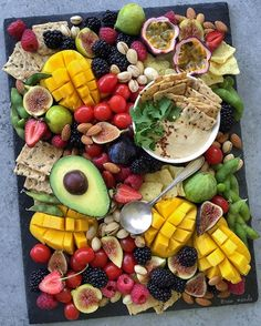 Sweet, Savory and Simple! A party platter to show you another reason why vegan is so easy and satisfying  #noanimalsharmed