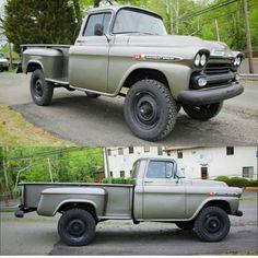 Classic Napco 4X4 truck