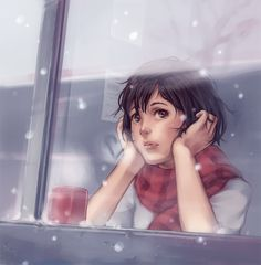 Waiting for Snow... by *StudioQube on deviantART