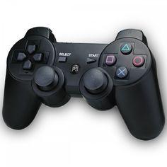Playstation 3 Controller, Wireless Controller für Sony PS3 schwarz - TOP QUALITÄT - Versand aus DE