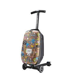Buy Micro Luggage Scooter, Adult, Steve Aoki Limited Edition from our Scooters, Skateboards & Roller Skates range at John Lewis & Partners. Childrens Luggage, Kids Luggage, Carry On Luggage, Dj Steve Aoki, Micro Kickboard, Micro Scooter, Luggage Trolley, Tablet Holder, Never Too Late