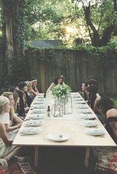 Backyard Dinner Party With Ruthie Lindsey  Local Milk   Free People Blog #freepeople