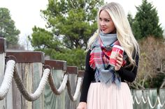 How To Tie A Blanket Square Scarf