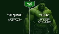 hulk Hulk, France Vs, Vs The World, Movie Posters, Movies, Bookstores, Films, Film Poster, Cinema