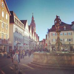 Marktplatz Reutlingen in Reutlingen, Baden-Württemberg