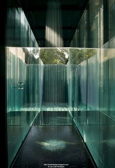 Les Cols Pavellons, Olot, Spain by RCR Arquitectes Water Architecture, Interior Architecture, Interior And Exterior, Contemporary Home Decor, Modern Interior Design, Contemporary Apartment, Therme Vals, Casa Patio, Mid Century Modern Lighting