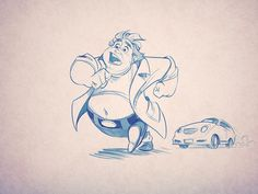 How to Create Movement and Action by Carlos Cabral, via Behance