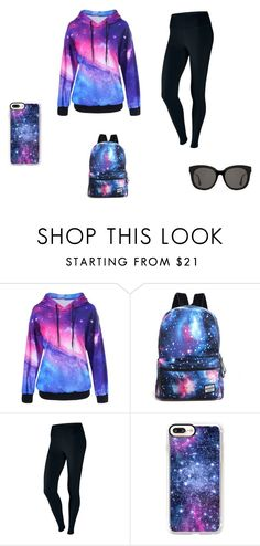 """""""Marta's universe"""" by ustine on Polyvore featuring moda, NIKE, Casetify, Gentle Monster i plus size clothing"""