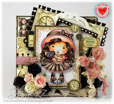La-La Land Crafts - MARCI WITH CAMERA from Stamp Club kit ♥♥ (via Bloglovin.com )