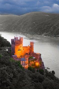 Rheinstein Castle, Germany -Miguel Lechuga