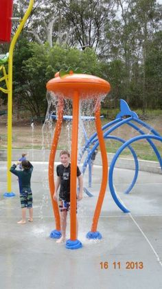 New Vortex Aquatic Playgrounds Splashpad At Newmarket Swimming Pool Brisbane Www