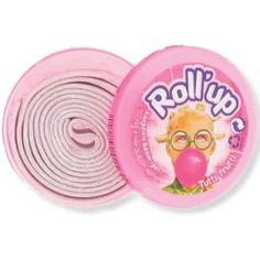 Chewing-gum en rouleau - Roll'up - bonbons des années 80