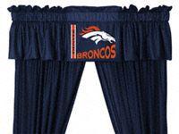 Denver Broncos Valance