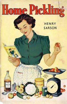 Reminds me of my maternal grandmother...who made the best bread & butter pickles on the planet.  Oh, to pull a jar of her pickles off the pantry shelf right now!!
