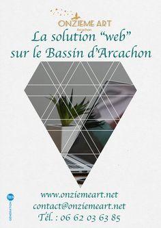 @onziemeart c'est votre solution web sur le bassin d'arcachon #generationBA #arcachon #bassindarcachon #arcachonbay #graphism #webdesigner