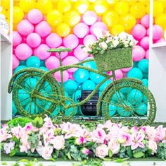101 fiestas: Ideas para una fiesta de bicicleta y como mesa de ...