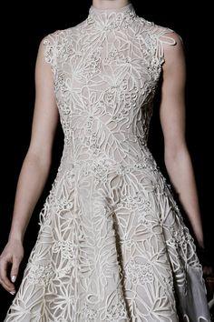 Valentino Haute Couture Spring/Summer 2013 details.