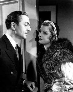 William Powell and Myrna Loy