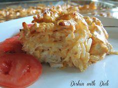 Dishin with Didi: Buffalo Chicken Hashbrown Casserole