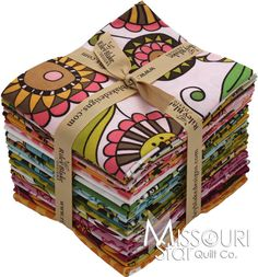 Lola's Posies Fat Quarter Bundle from Missouri Star Quilt Co