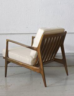 Gentil Ib Kofod Larsen Selig Lounge Chair